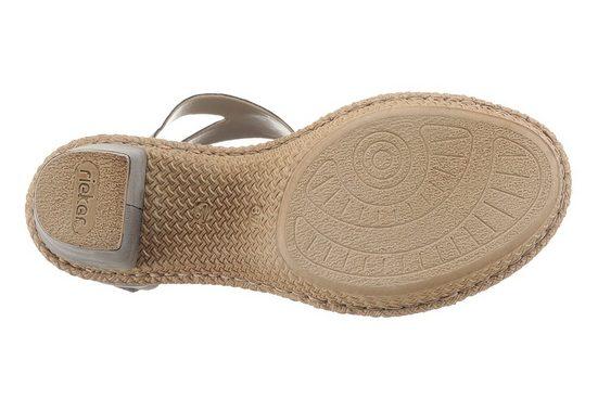 Rieker Sandalette, mit Glitzerdetails