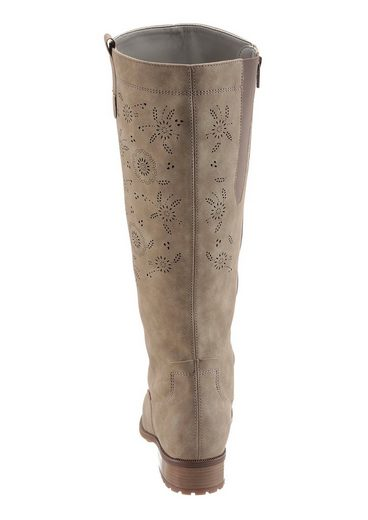 Jenny Weitschaftstiefel, mit XL-Schaft