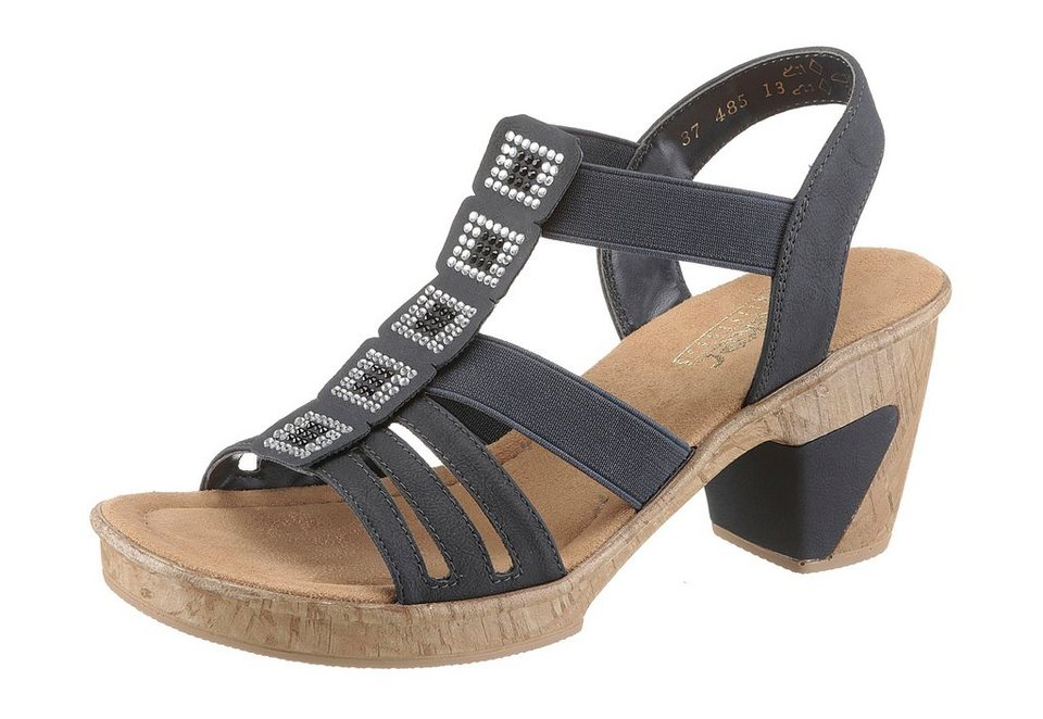 rieker sandalette mit glitzersteinchen kaufen otto. Black Bedroom Furniture Sets. Home Design Ideas
