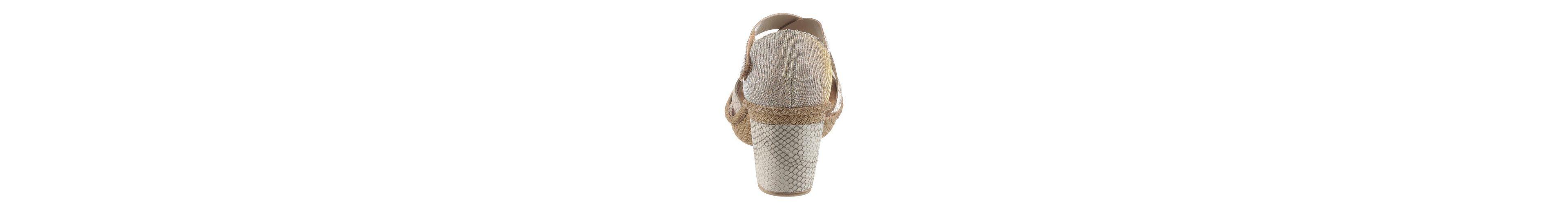 Rieker Sandalette, im Reptil-Look
