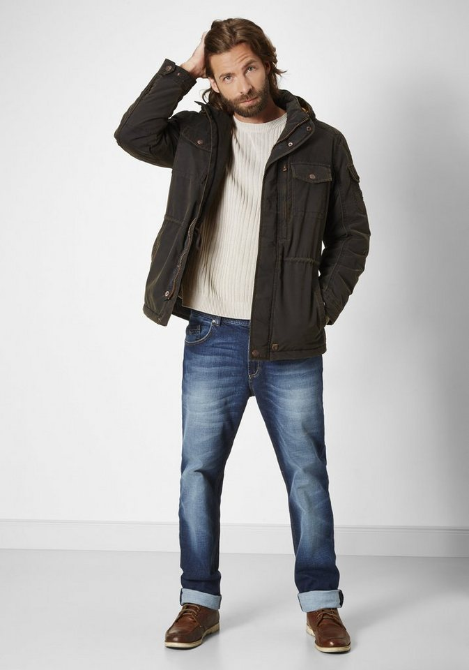 Redpoint Jacke »Marty« in brown