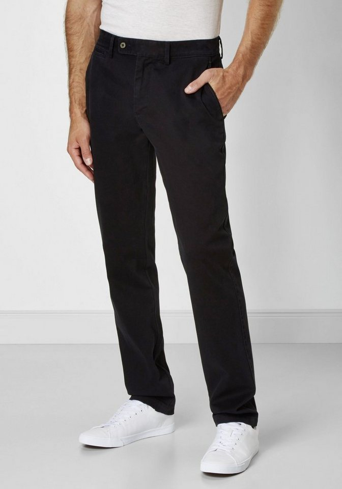 Redpoint Stretch Chino »Milton« in black