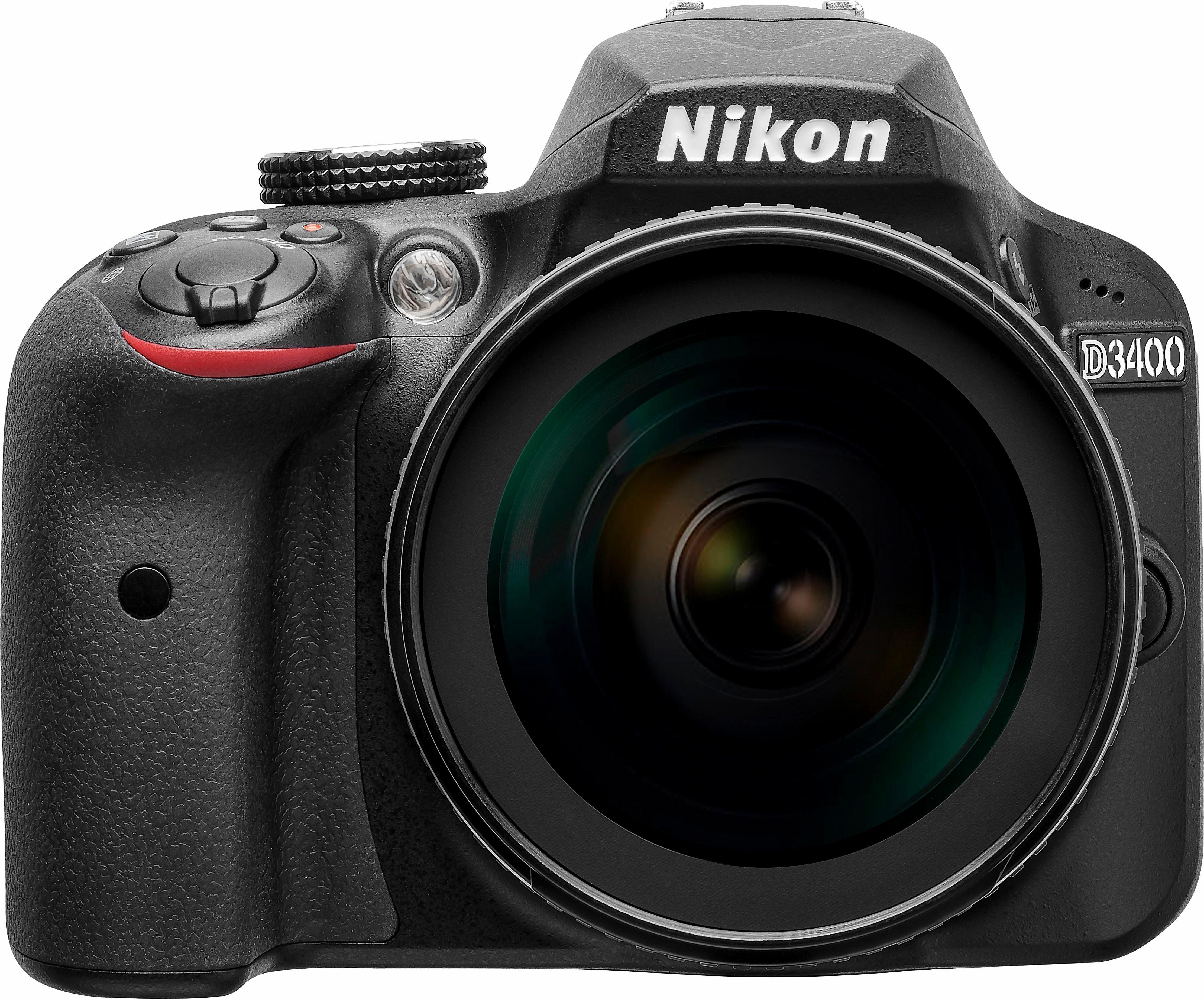 Nikon D3400 Kit AF-S 18-105 VR Spiegelreflex Kamera, AF-S 18-105 VR Zoom, 24,2 Megapixel