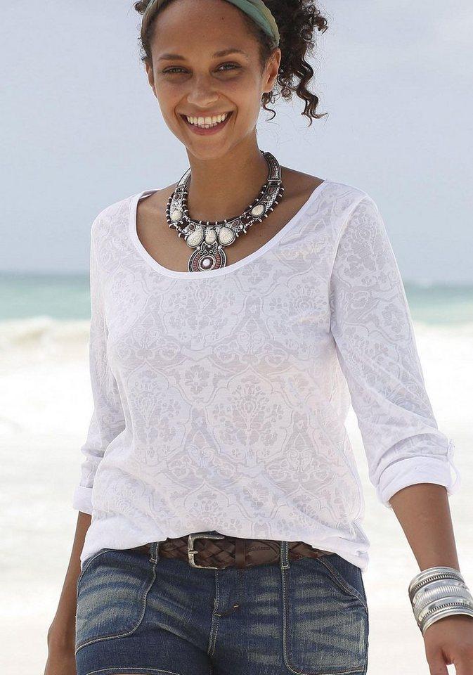 Beachtime Strandshirt in weiß