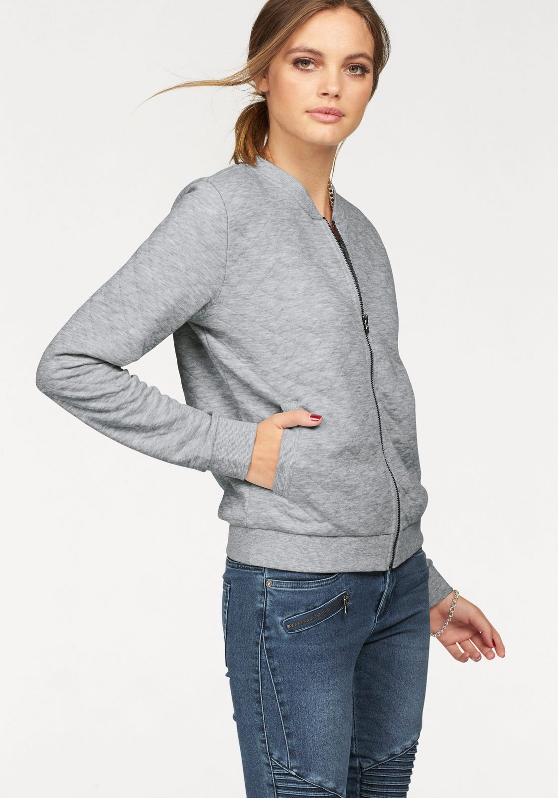 Only Sweater »JOYCE«, Mit Steppmuster