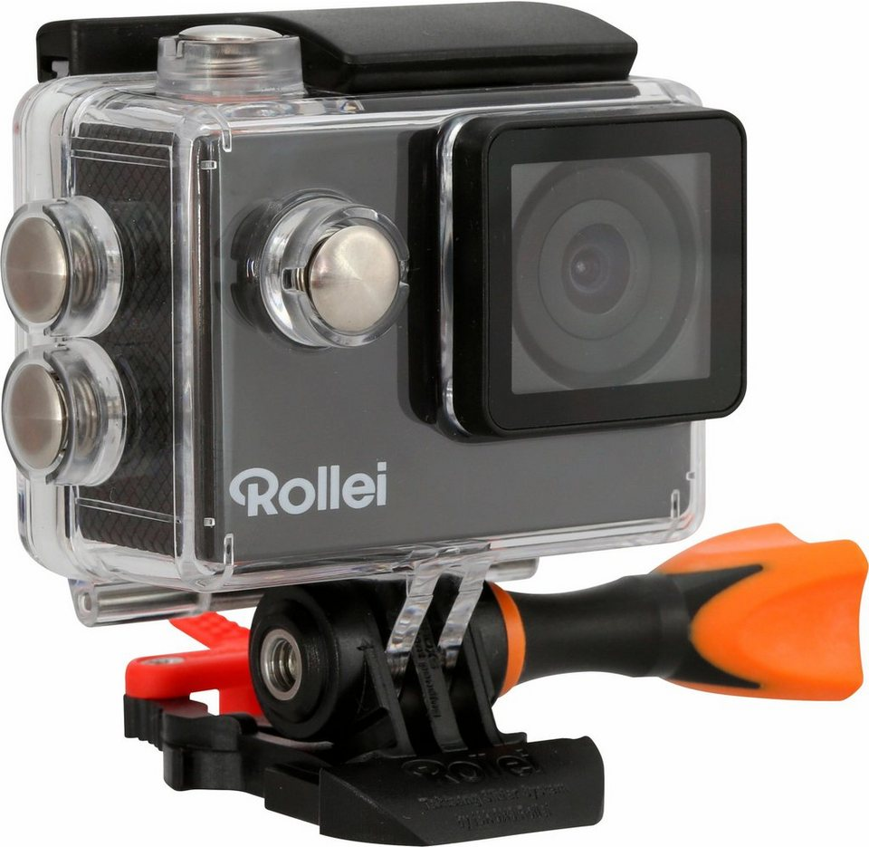 Rollei Actioncam 425 Set 4K (Ultra-HD) Actioncam, WLAN inkl. Rollei Outdoor-Set