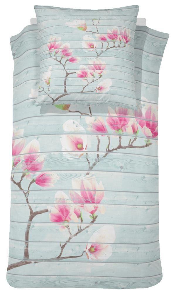 Bettwäsche, Damai, »Jill«, mit Magnolien-Blüten