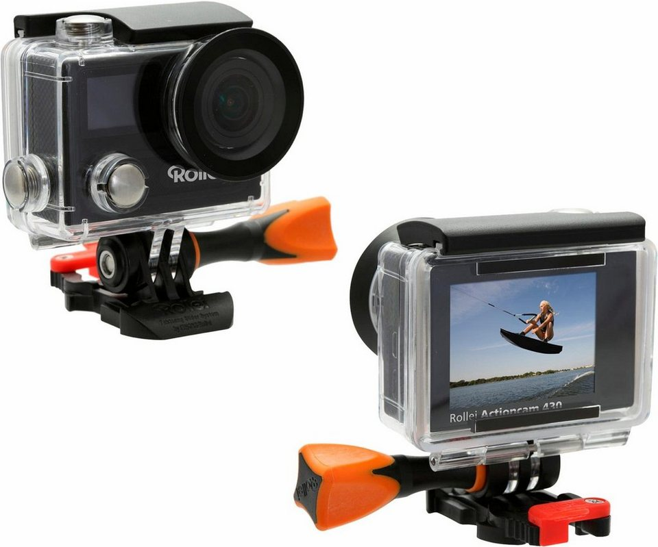 rollei actioncam 430 4k ultra hd actioncam wlan otto. Black Bedroom Furniture Sets. Home Design Ideas