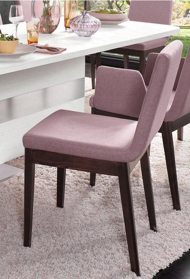 Stühle (2 Stück) in rosa