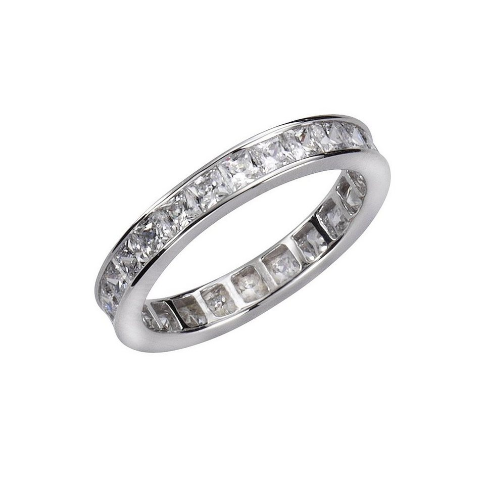CELESTA Ring »925/- Sterling Silber Zirkonia« in weiß