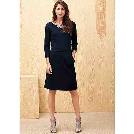 s.Oliver BLACK LABEL Stretch-Kleid aus Interlock-Jersey