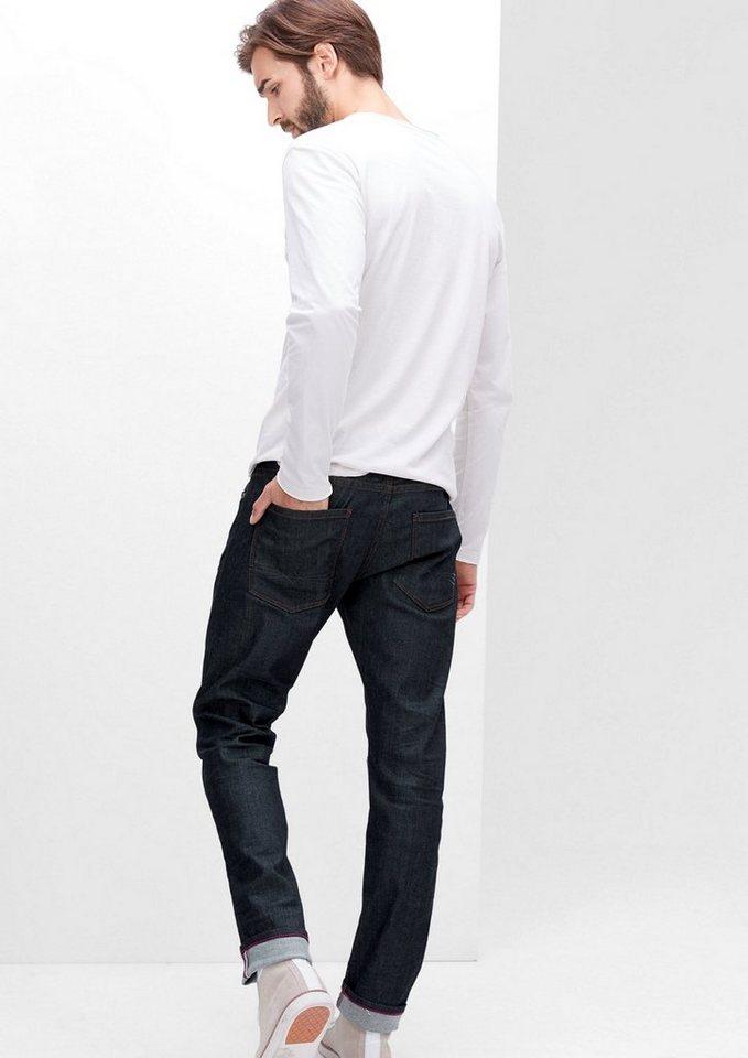 s.Oliver RED LABEL Stick Skinny:Stretch-Jeans in blue denim stretch