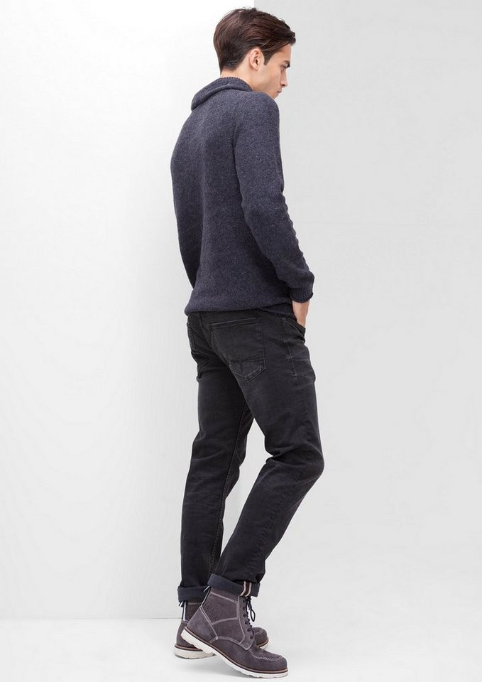 s.Oliver RED LABEL Stick Skinny: Superstretch-Jeans in charcoal denim stret