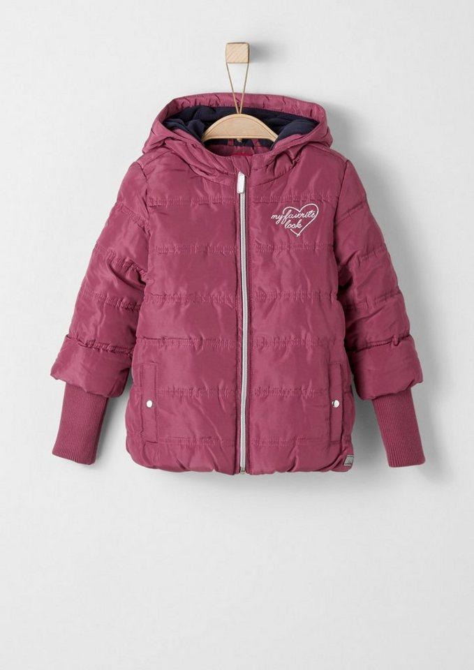 s.Oliver RED LABEL Junior Multifunktionale Jacke für Mädchen in pink