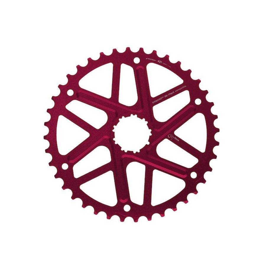 e*thirteen Fahrradkasetten »Extended Range Ritzel 10-Fach 40 Zähne für Shimano«