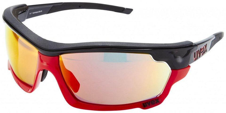 UVEX Radsportbrille »Sportstyle 304 IR Brille« in schwarz