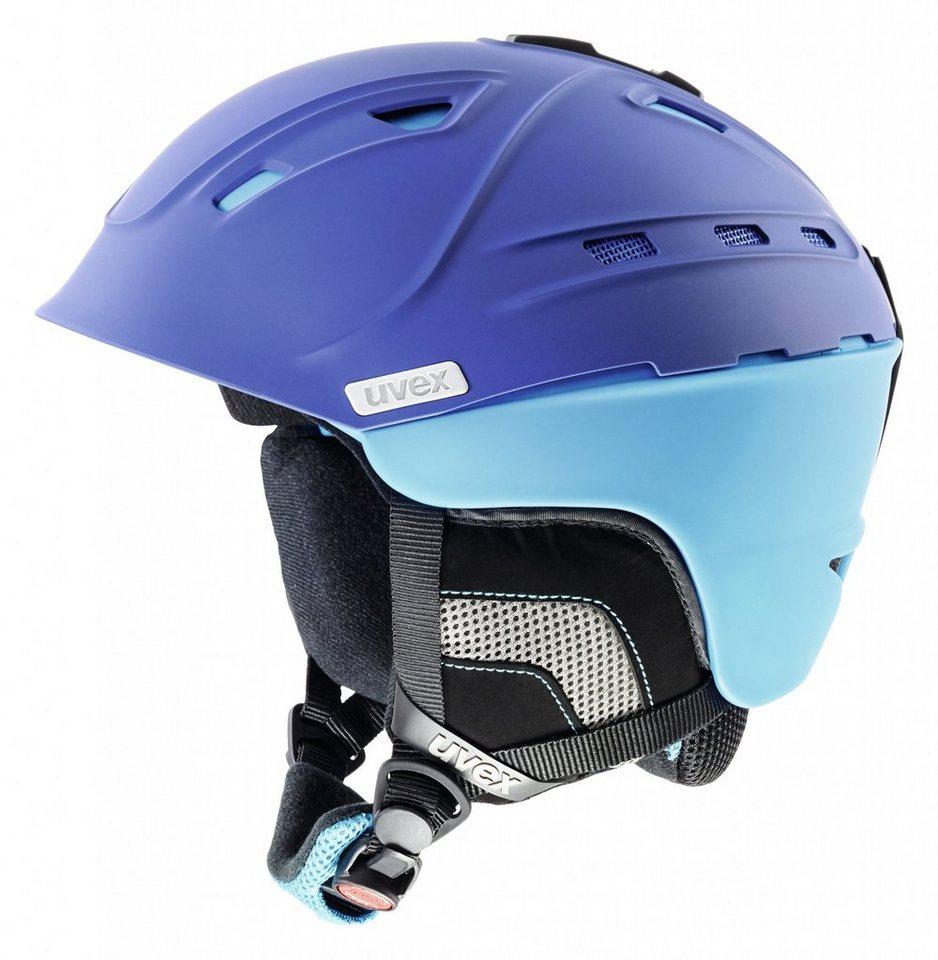 UVEX Ski - / Snowboardhelm »p2us Helmet« in blau