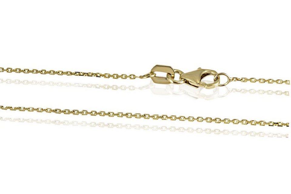 goldmaid Ankerkette 375/- Gelbgold 40 cm in goldfarben