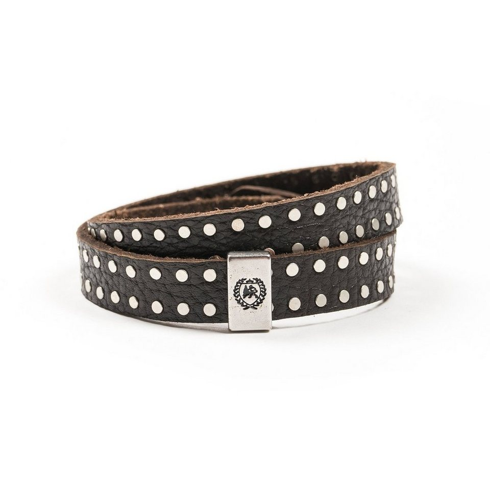 LERROS LERROS Armband 'DALE' in DARK BROWN