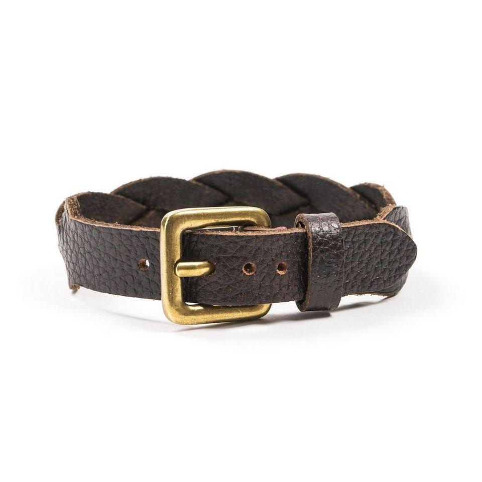 LERROS LERROS Armband 'DANTON' in BROWN