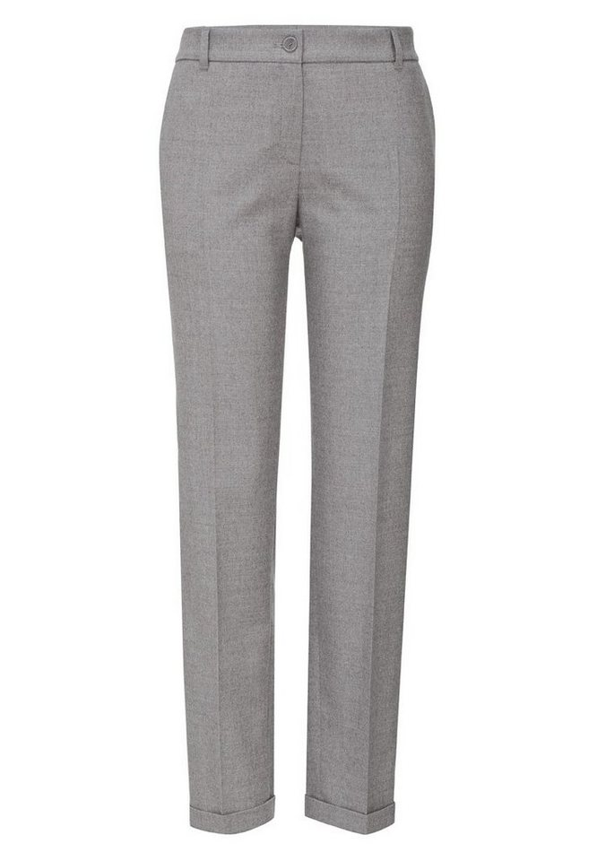 BRAX Damenhose Wolle »MONACO« in LIGHT GREY