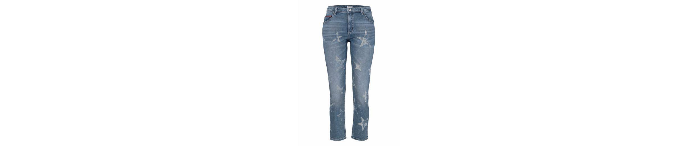 Hilfiger Denim Straight-Jeans Lana, im modischen Cropped-Style