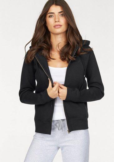 Fruit of the Loom Kapuzensweatshirt Lady-Fit Premium hooded Sweat Jacket