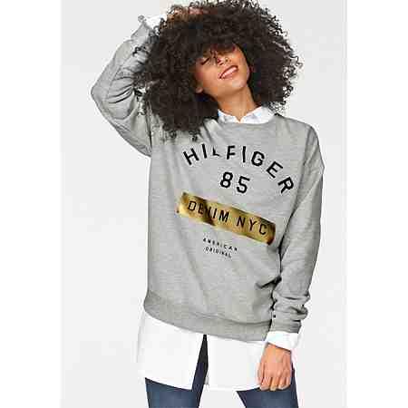 Hilfiger Denim Sweatshirt mit Metalicprint