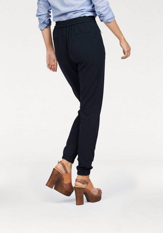 Pepe Jeans Schlupfhose »Tracy« im lässigen Joggpants-Schnitt in dunkelblau