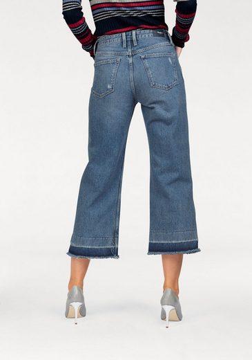 Pepe Jeans Destroyed-Jeans PATTI DLX, mit ausgefranstem Saum