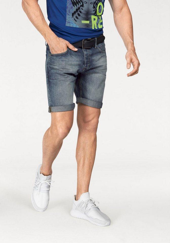 Jack & Jones Jeansshorts »Rick« Bitte eine Nummer Größer bestellen, fällt klein aus. in blue-used