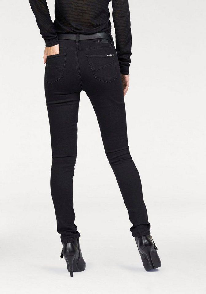 Garcia Slim-fit-Jeans »Celia« in black-stone