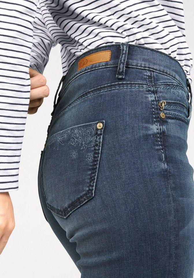 Paddock´s Gerade Jeans »Kate«, mit Stickerei