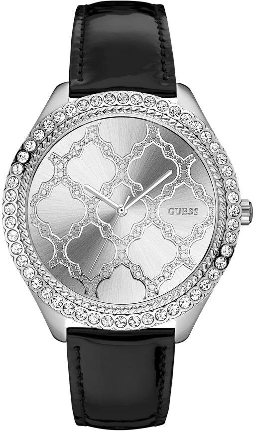 Guess Quarzuhr »W0579L7« in schwarz