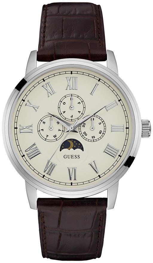 Guess Multifunktionsuhr »W0870G1« in braun