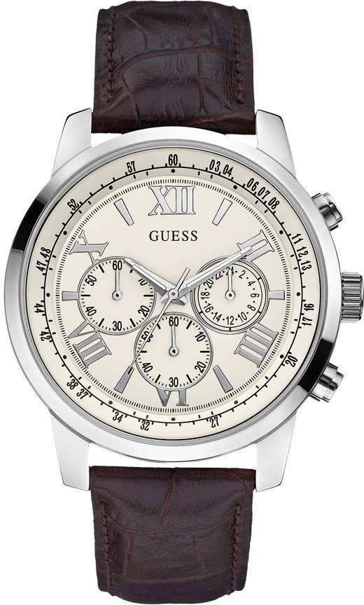 Guess Chronograph »W0380G2« in braun