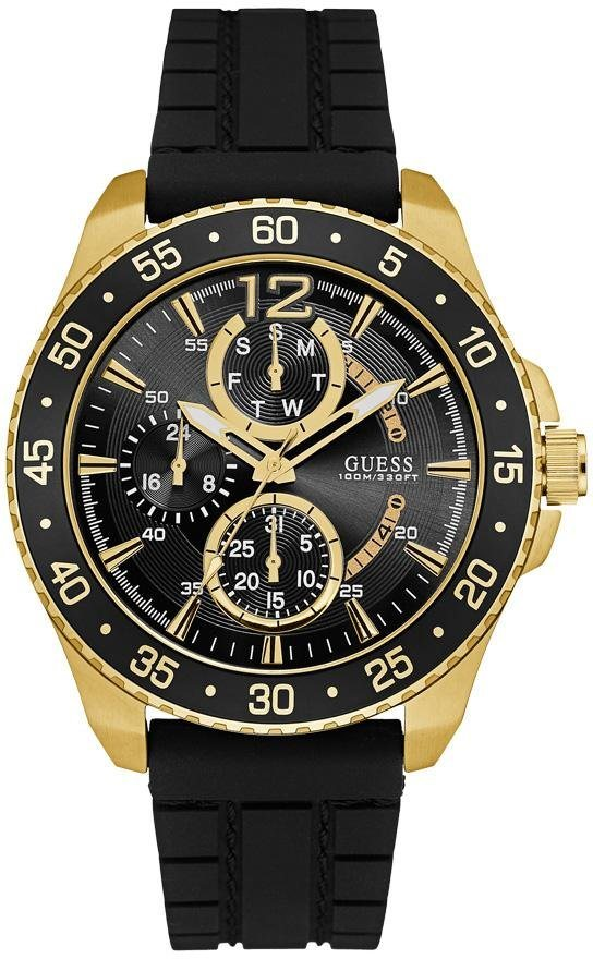 Guess Multifunktionsuhr »W0798G3« in schwarz