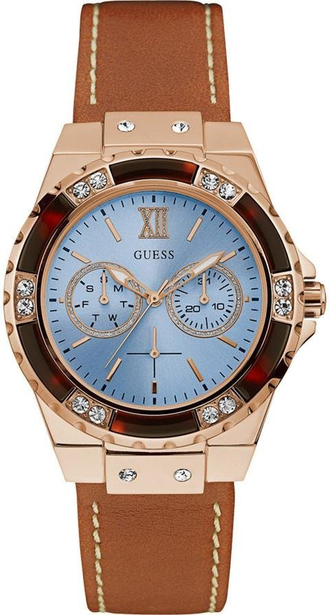Guess Multifunktionsuhr »W0775L7« in cognac