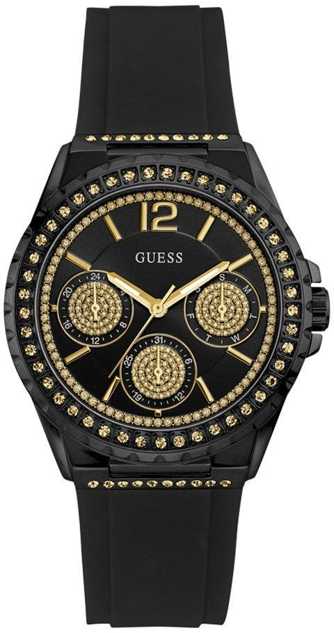 Guess Multifunktionsuhr »W0846L1« in schwarz