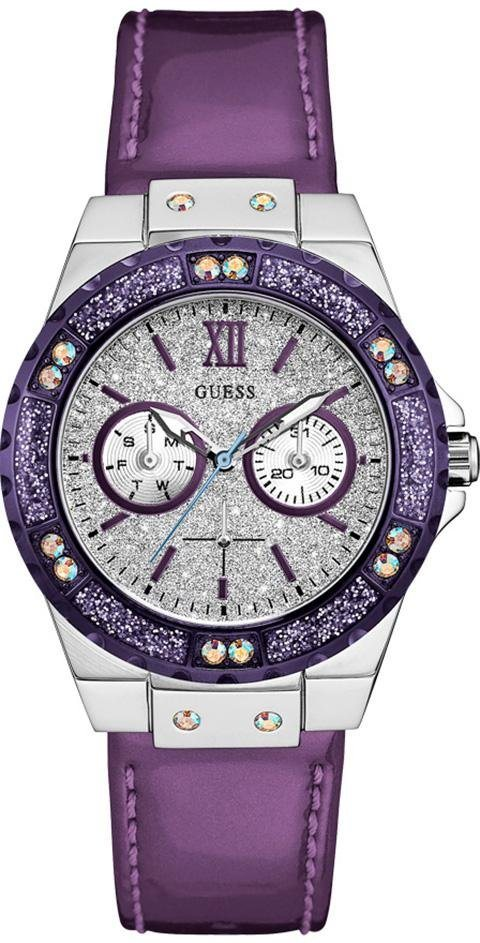 Guess Multifunktionsuhr »W0775L6« in lila