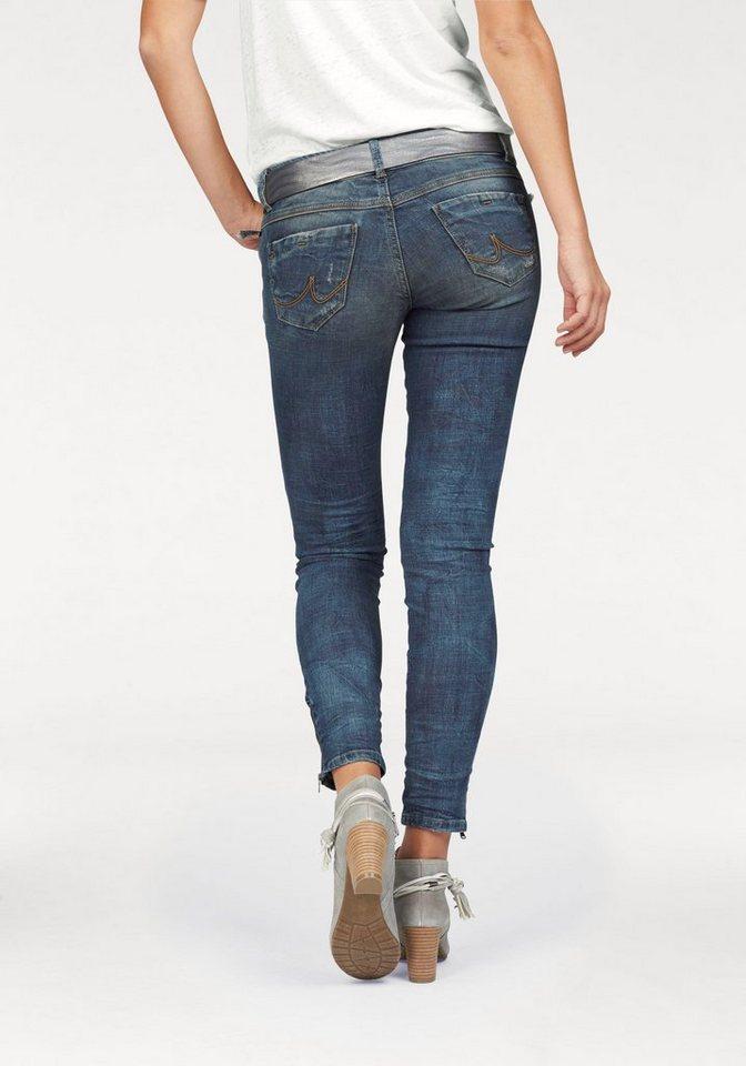 LTB Destroyed-Jeans »Rosella« mit besonderen Details in medium-blue