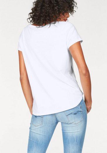 Replay Print-Shirt Logo