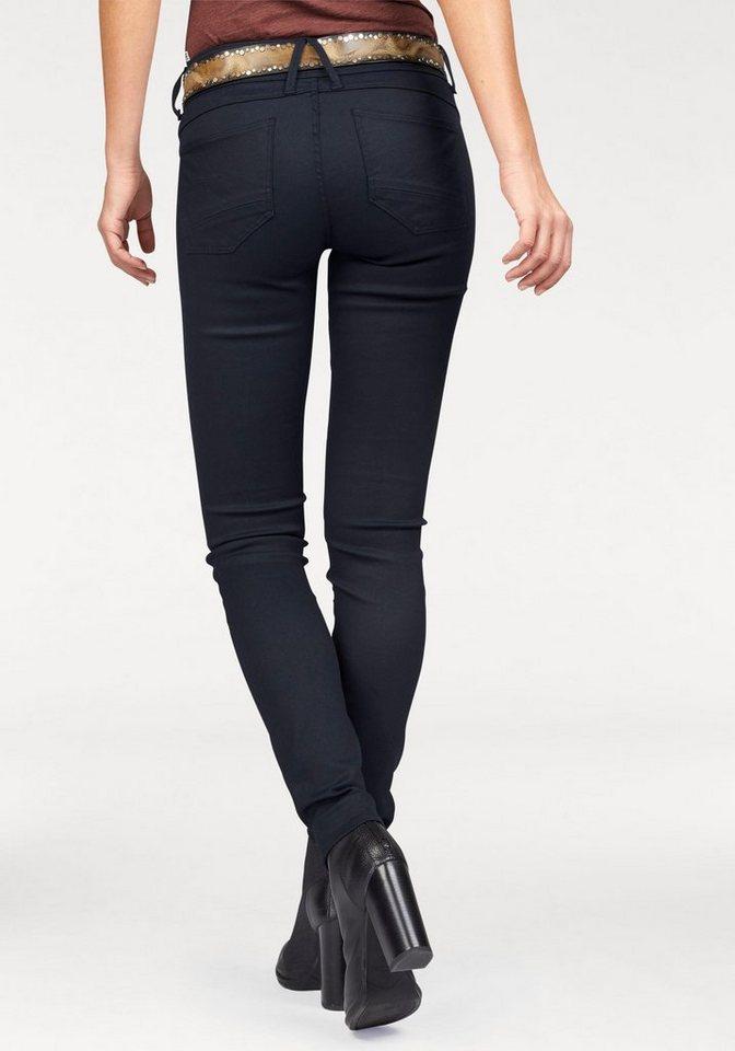 G-Star Skinny-fit-Jeans »Lynn« mit breitem Bund in dark-blue