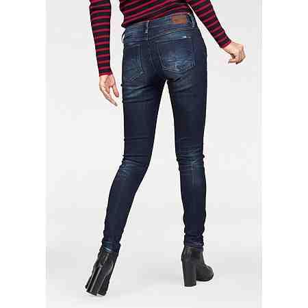 G-Star Skinny-fit-Jeans mit Waschung am Saum