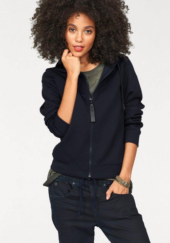 G-Star Kapuzensweatshirt »AB HDD Vest« mit coolen 3D-Effekten in dunkelblau