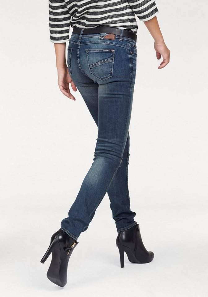 Garcia Slim-fit-Jeans »Riva« in blue-used