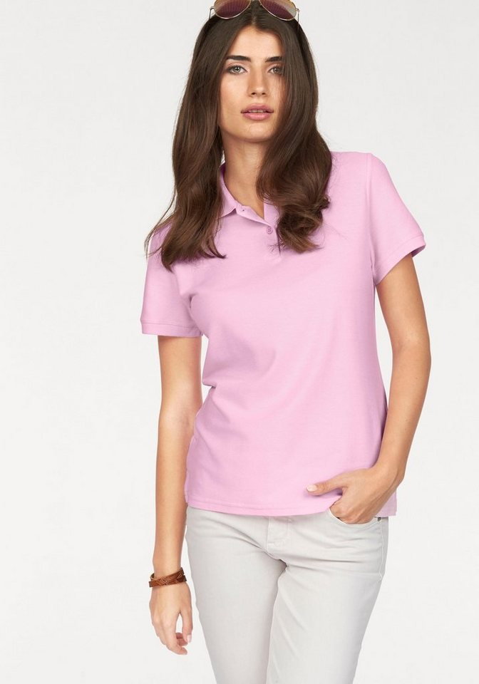 Fruit of the Loom Poloshirt »Lady-Fit Premium Polo« in rosa
