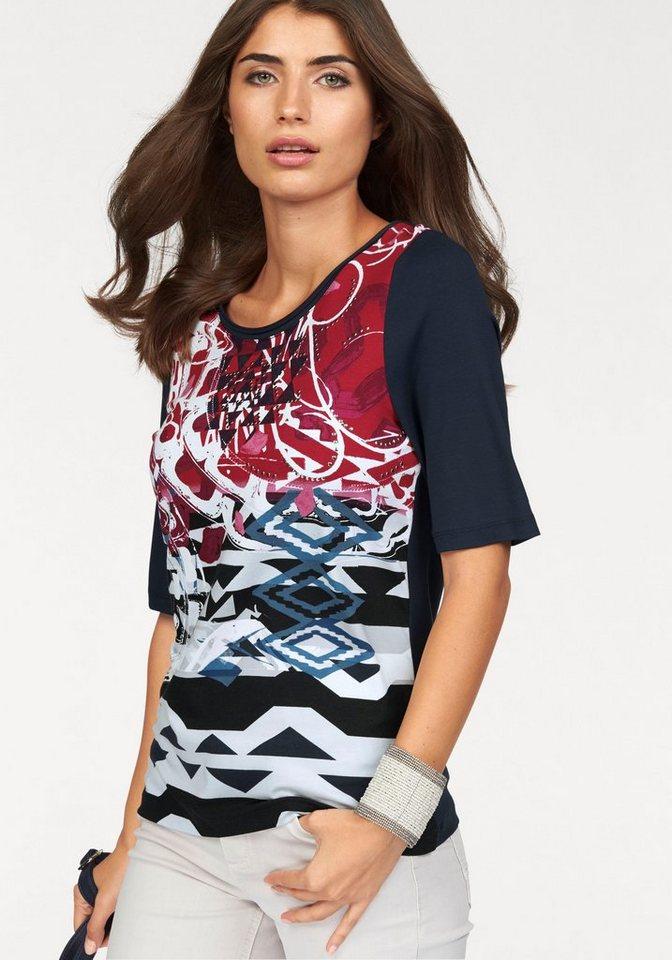 BONITA T-Shirt mit tollem grafischem Druck in blau-weiß-rot