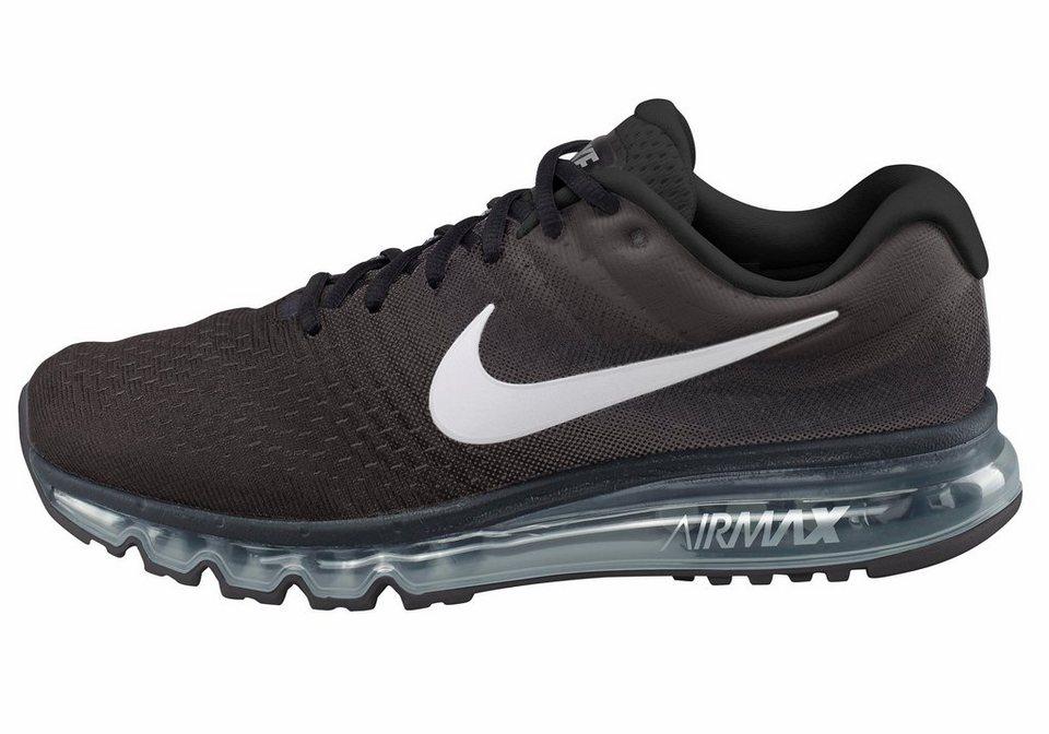 Nike »Air Max 2017« Laufschuh in schwarz-weiß