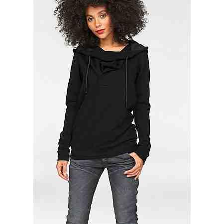 G-Star Kapuzensweatshirt »Xarin Slim« mit Wasserfallausschnitt